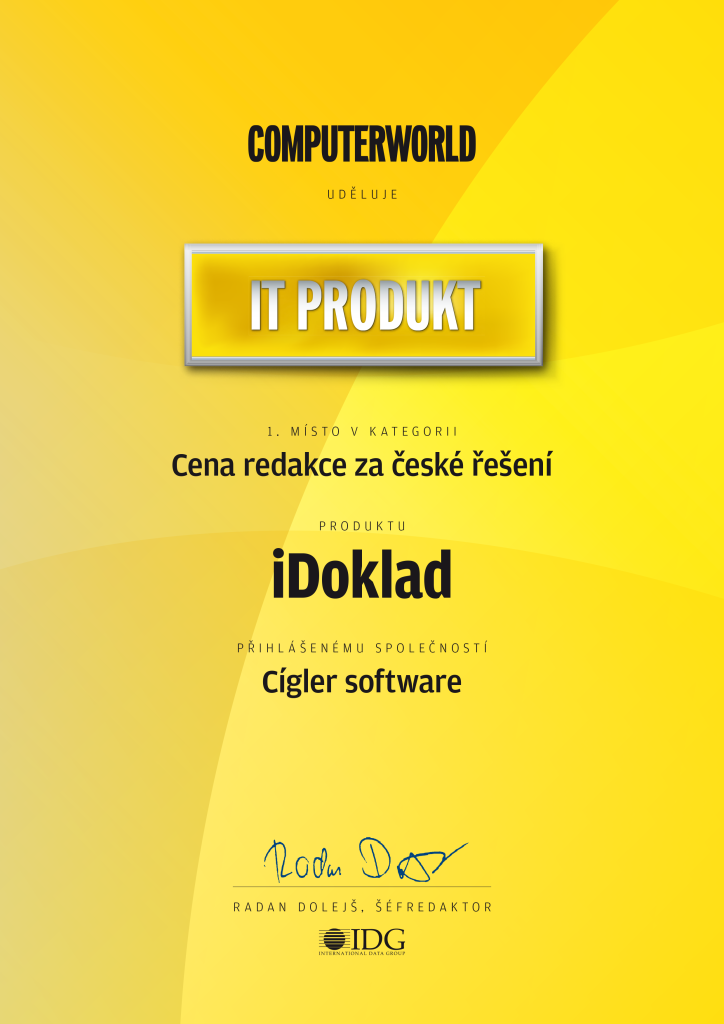 Cigler software_ITprodukt_2013 6